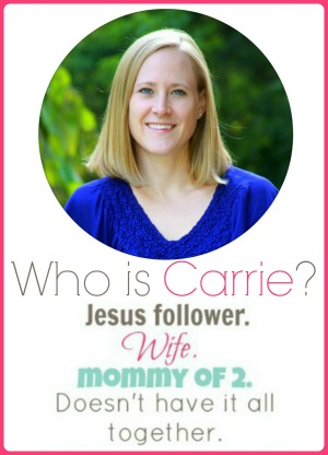 New Who is carrie for about me page april 2014