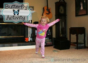 easy Butterfly activity
