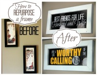 How To Repurpose A Frame
