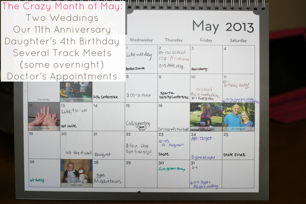 crazy month of may