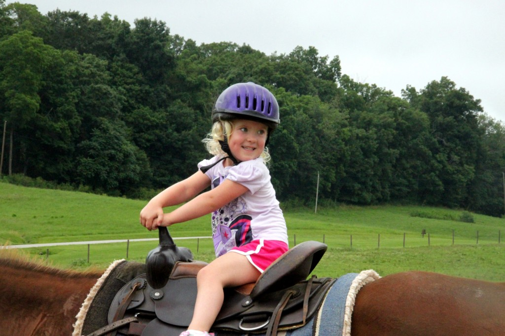 Horseback riding at Wilstem Ranch in French Lick, Indiana