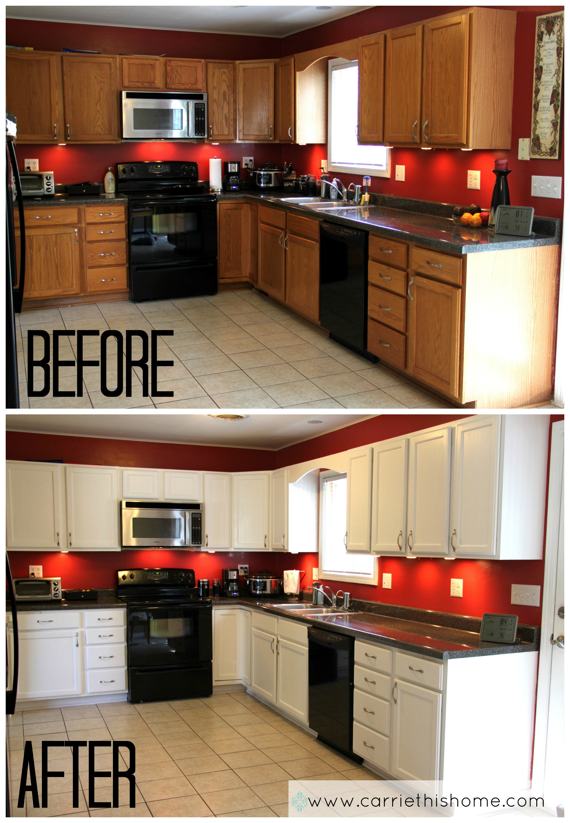 top moments of 2013 ForHow To Paint White Cabinets