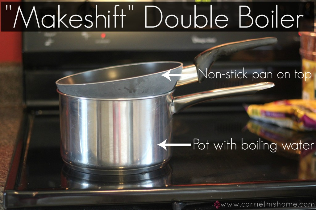 Makeshift Double Boiler