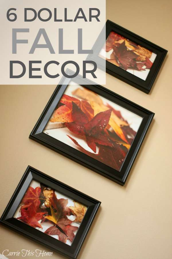 Easy 6 Dollar Fall Decor