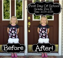 First Day Of School Picture {Tutorial}
