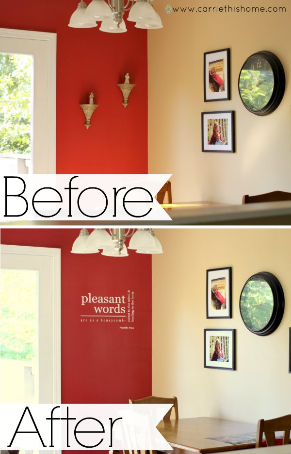 Icon Wall Sticker before and after