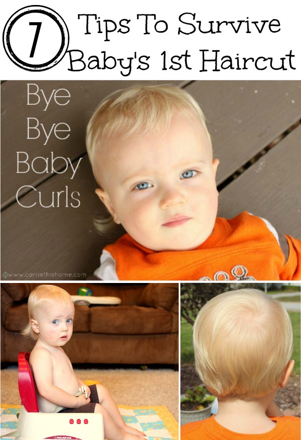 7 Tips To Survive Baby's First Haircut