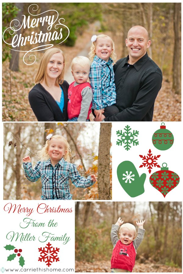 Photo Collage Christmas card