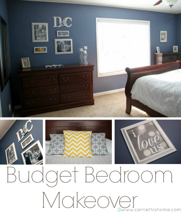 Budget Master Bedroom Makeover--great ideas!