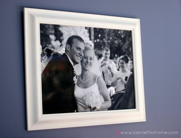 How to take an inexpensive frame and turn it into something amazing!  Great tips!