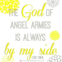 God Of Angel Armies {Free Printable}