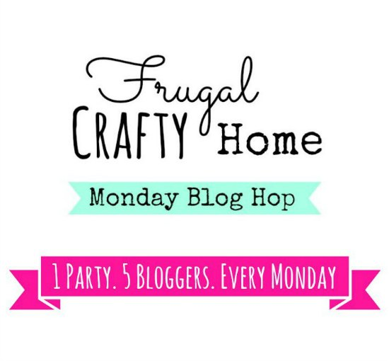 Frugal Crafty Home Blog Hop 79