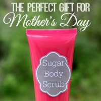 Sugar Body Scrub (With Free Printable Labels)