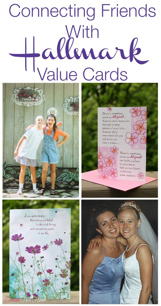#ConnectingFriends with Hallmark Value Cards