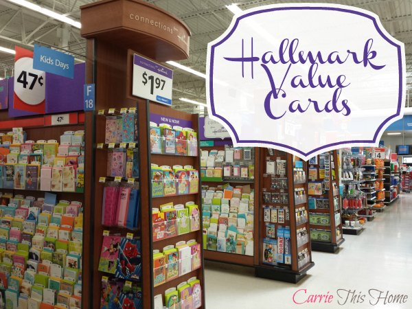 Hallmark Value Cards available at Walmart!