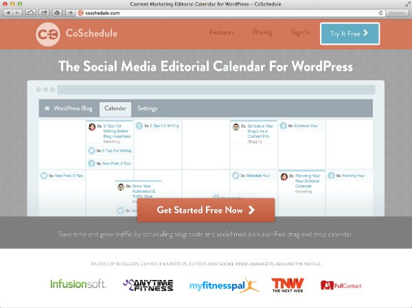 CoSchedule-The social media editorial calendar for WordPress