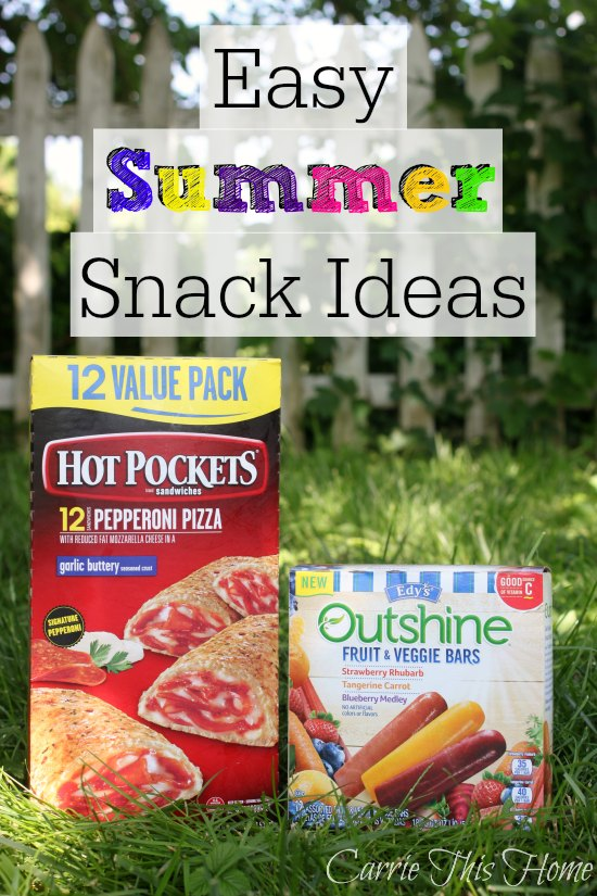 Easy Summer Snack Ideas #SummerGoodies #shop