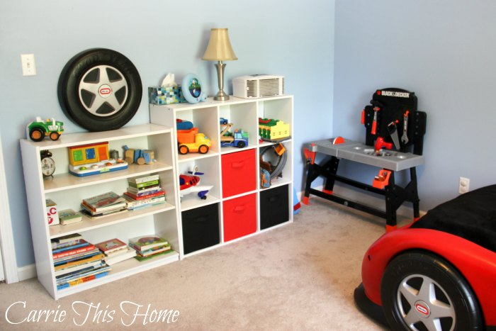 Kids rooms can become messy fast! One mom shares some super helpful tips showing you how to tackle kids clutter--the easy way!