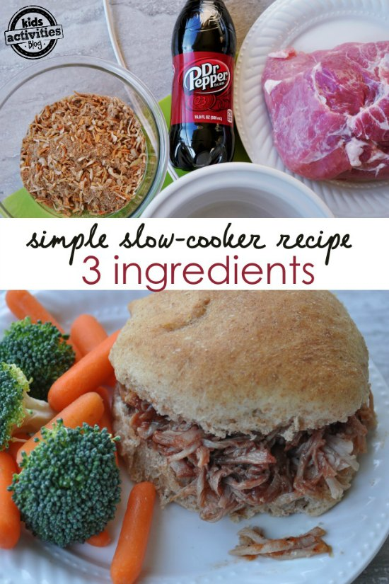 slow-cooker-pork-dinner-recipe-using-only-3-ingredients