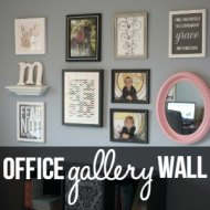 Office Gallery Wall & Minted.com Giveaway