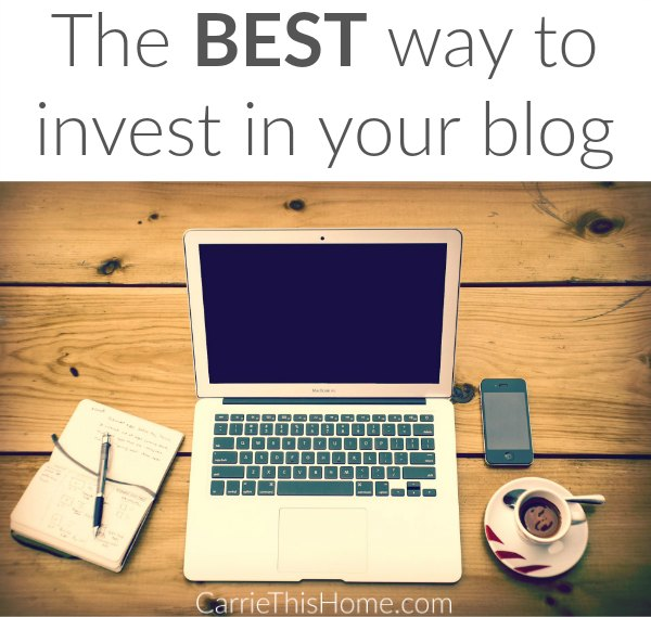 This is the best way to invest in your blog!