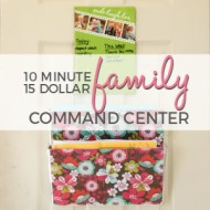 10 Minute Family Command Center