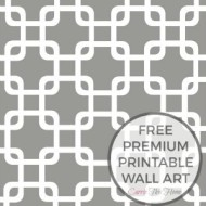 Premium Free Printable Wall Art!
