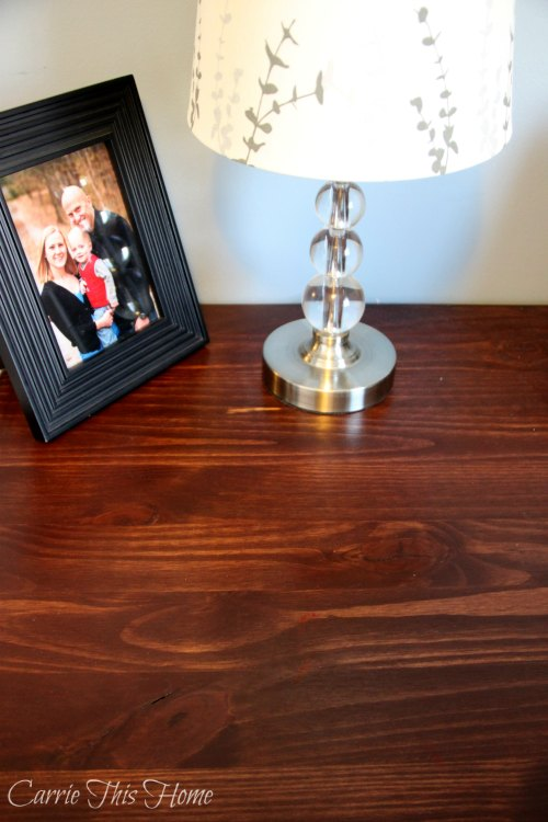 Beautiful cherry finish desk top