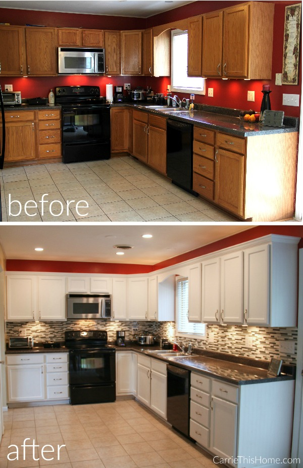Upgrade kitchen cabinets on a budget for Kitchen upgrades on a budget