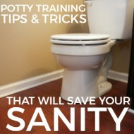 Potty Training Tips & Tricks That Will Save Your Sanity