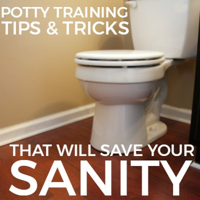 This is a must-read for parents about to potty train! Potty training tips and tricks that will save your sanity.