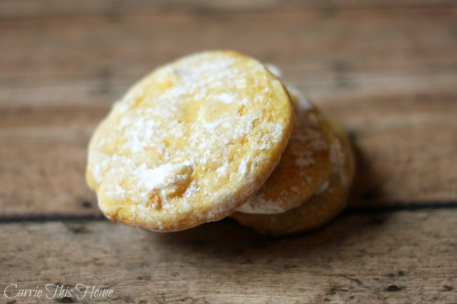 These lemon white chocolate cookies will melt in your mouth! So good!
