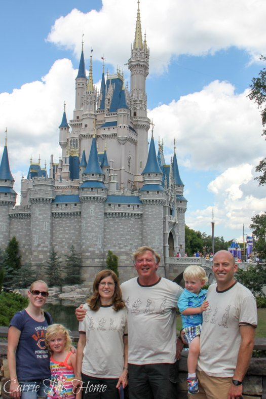 Disney vacation with the in laws!