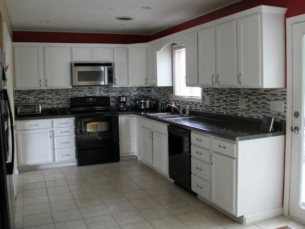 Cabinets without lighting