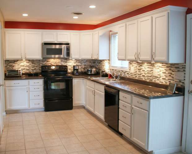 Save money and do a kitchen upgrade instead of a renovation! You'll get a brand new look for a lot less!