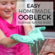 Easy Homemade Oobleck {Fun With Science}