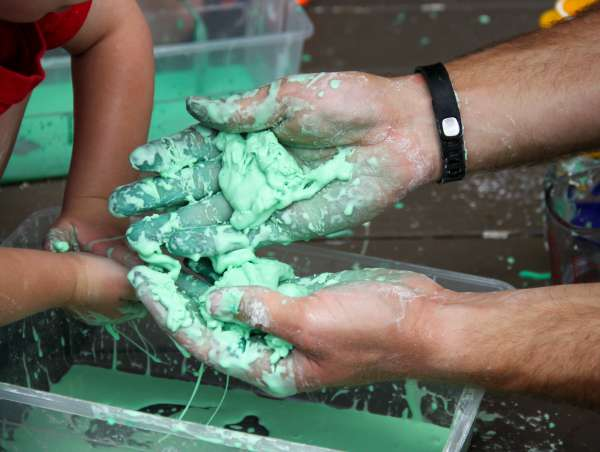 Oobleck solid