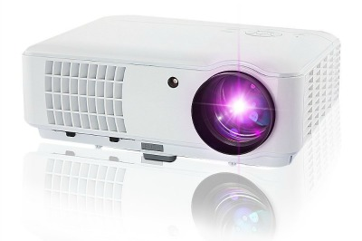Use an office projector for home movies at a fraction of the cost of movie projectors!