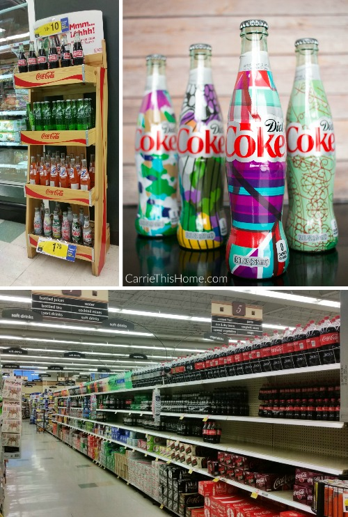 Find #uniquelymine Diet Coke bottles at your local Kroger store! #ad
