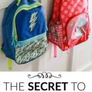 The Secret To Getting The Kids Ready Without Nagging