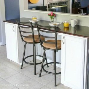 DIY Breakfast Bar