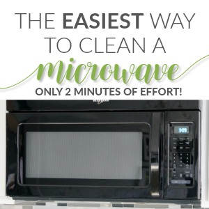 The Easiest Way To Clean A Microwave