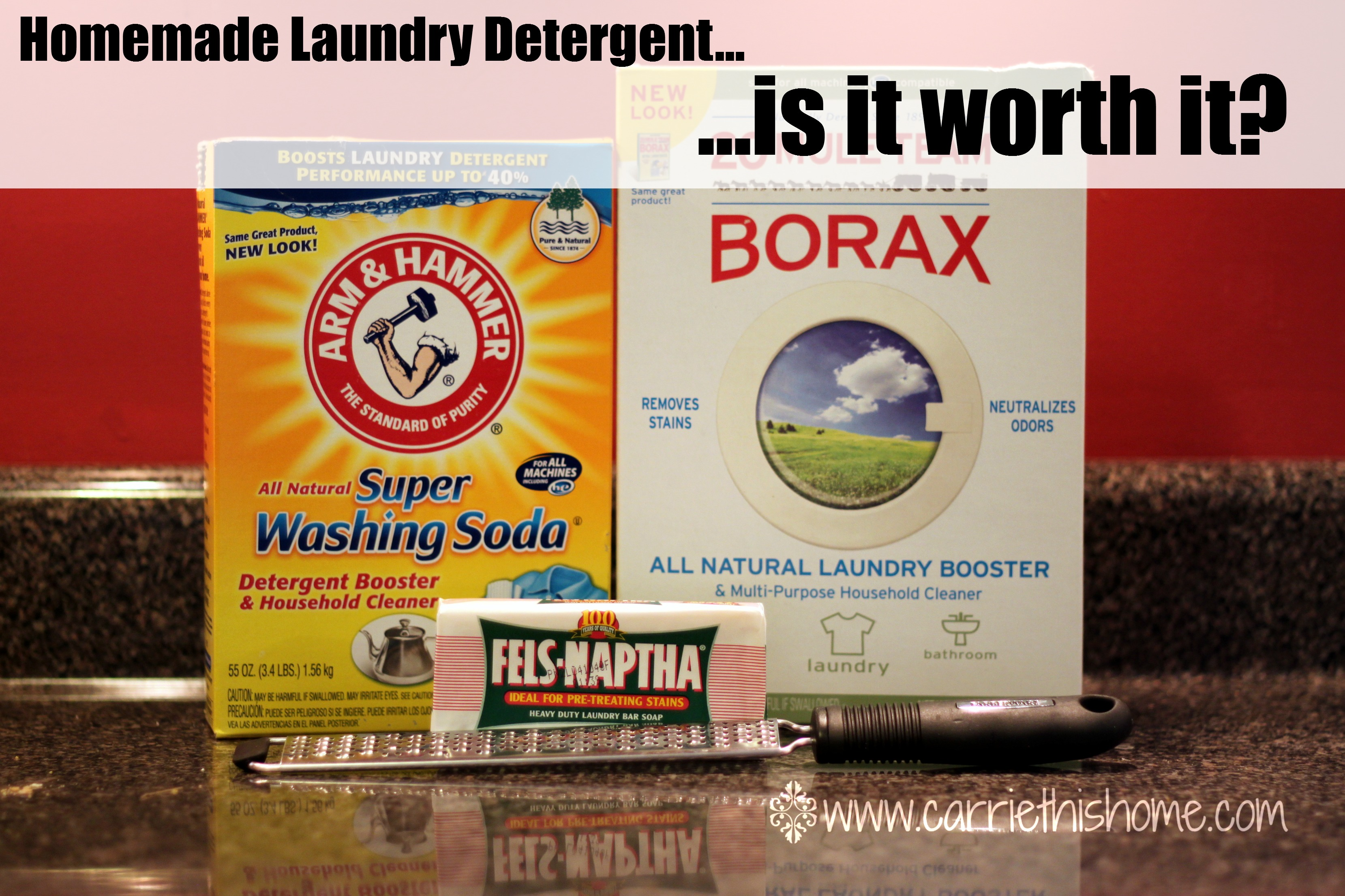 DIY Laundry Detergent–Is It Worth It?
