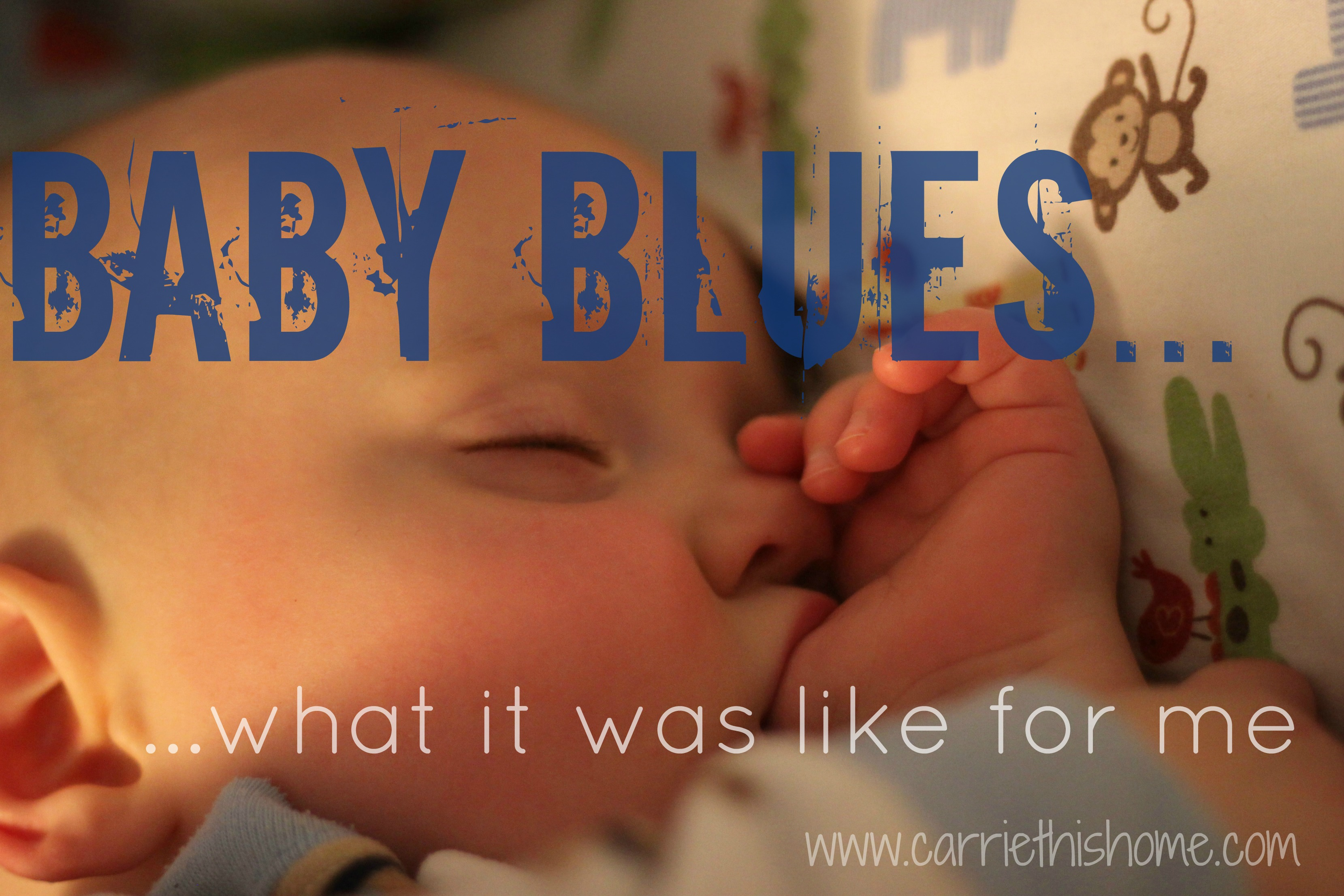 Baby Blues…What It Was Like For Me
