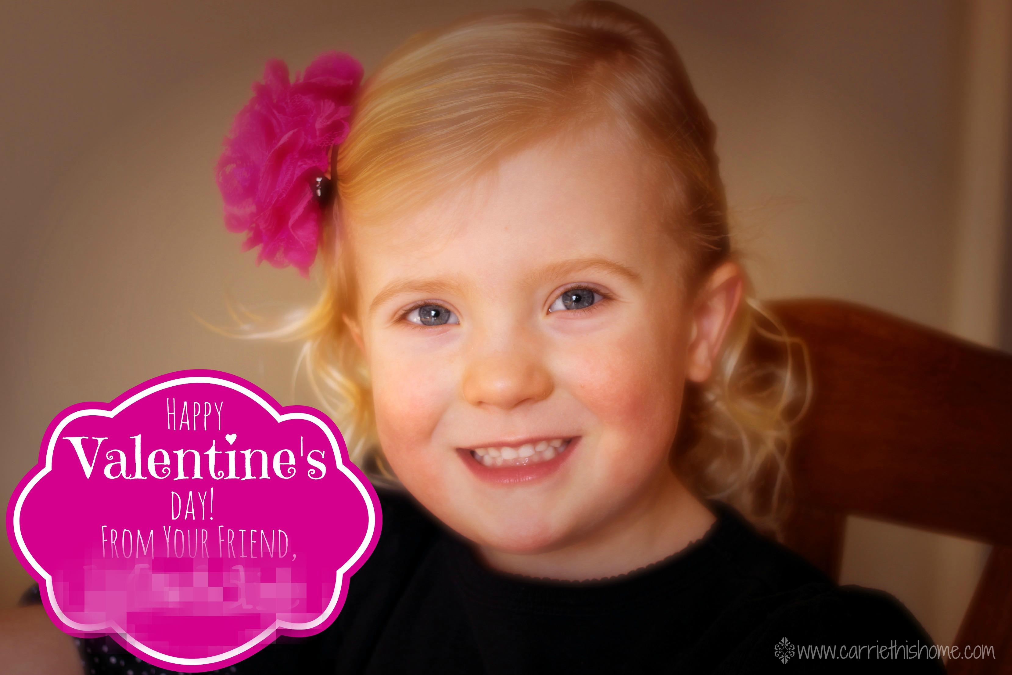 DIY Photo Valentines