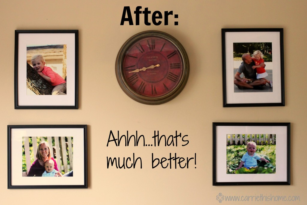 kitchen wall makeover after