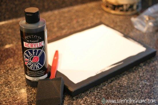 supplies for diy photo canvas