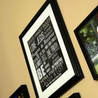 DIY Chalkboard Family Rules