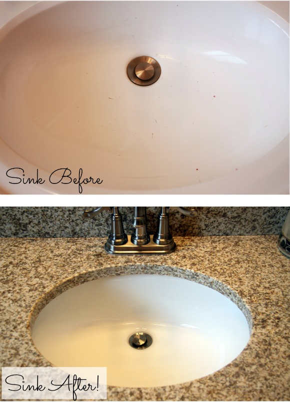 Budget bathroom makeover Cheap bathroom remodel before and after
