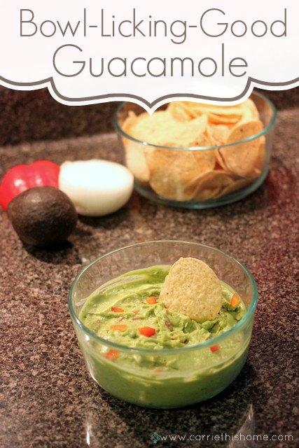 Bowl Licking Good Guacamole